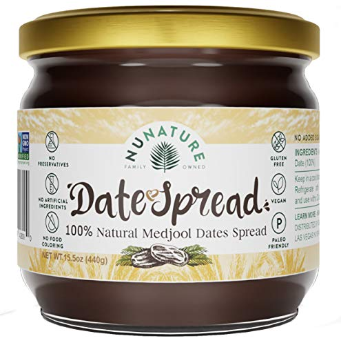 NUNATURE 100% Natural Dates Spread …