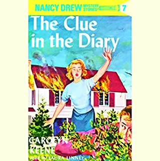 The Clue in the Diary audiobook cover art