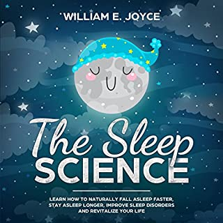 The Sleep Science audiobook cover art