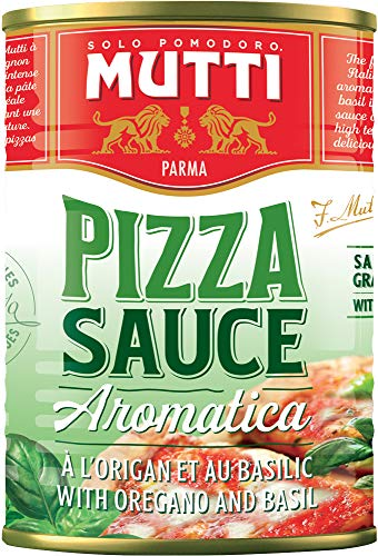 MUTTI Sauce Pizza Aromatisée - Conserve 400 g