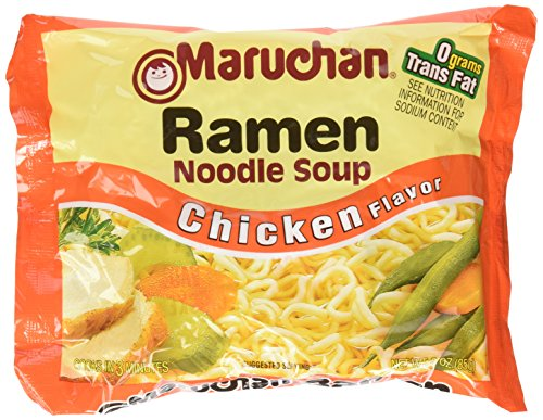 Maruchan chicken noodle soup pack of 36 - 3 oz
