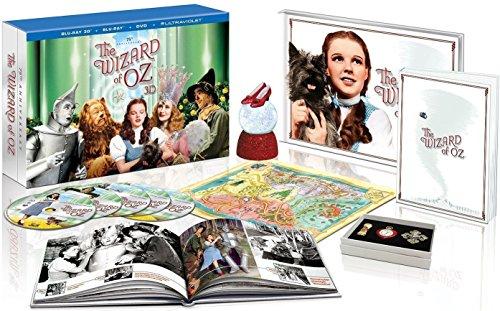 WIZARD OF OZ-75TH ANNIVERSARY (BLU-RAY/DVD/3-D/4 DISC/ULT COLLECT) (3-D) WIZARD OF OZ-75TH ANNIVERS