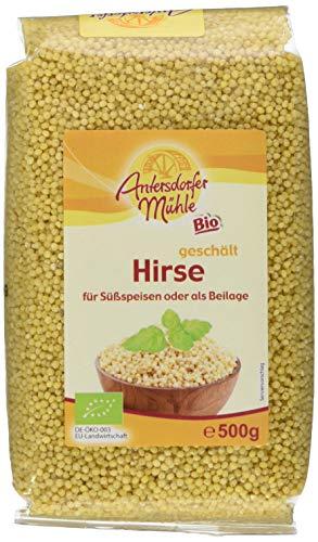 Antersdorfer Mühle Hirse, 6er Pack (6 x 500 g) - Bio