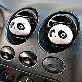 iTimo Désodorisant pour Voiture, Parfum 100% Original de Voiture, désodorisant, Parfum de Voiture, Style Panda Mignon (Noir)