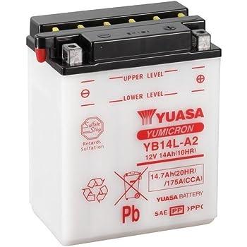 Bateria gel yb14l-a2 Suzuki GSX-R 1100 gv73c BJ 1989-1992