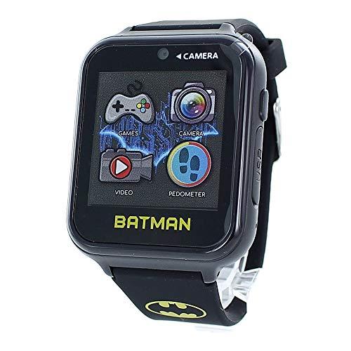 [ディーシー コミックス]DC Comics キッズ スマートウォッチ 子供用 バットマン ブラック BAT4740 腕時計 [並行輸入品]