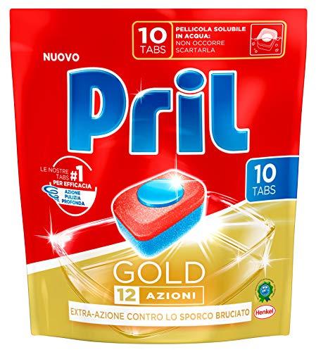 PRIL Tabs Spülmaschine Gold 10 Stücke Produkt Reinigungsmittel Für die Küche