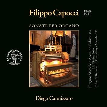 Filippo Capocci: Sonate per Organo (Organo Michele e Agostino Polizzi 1914, Fratelli Cimino 2010, Chiesa S. Tommaso di Canterbury, Marsala, Trapani)