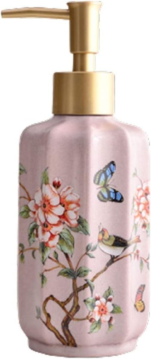 Hssure Retro Ceramic Soap with Lotion Max 58% OFF Direct sale of manufacturer DispenserBathroom Bottle