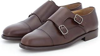 Doble Hebilla en Marrón - Zapato para Hombre Gallant (44 EU)