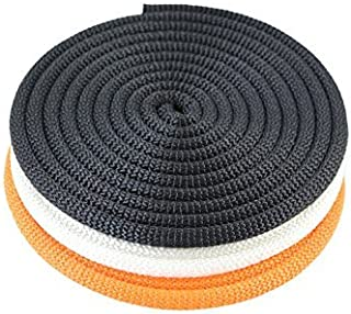 SGT KNOTS Dacron Polyester Utility Rope (1/8 inch - 3/8 inch) SuperSmooth Premium Cord - PolyDac Rope - for Mooring, Anchor Lines, Cargo Tie-Downs, DIY & Crafting Projects, More (25 ft - 100 ft)
