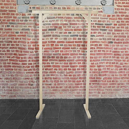 SKYLANTERN Mariage Arche - Grande Arche Mariage Bois Rectangulaire 1.4Mx2.15M - Arche en Bois pour décoration de Mariage - Arche Kit pour Ceremonie Laique - Montage Facile - Stock en France