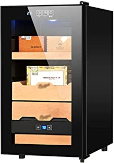 Humidors Smart konstant temperatur och luftfuktighet cigarr skåp kontor oberoende fuktkontroll (färg: Svart, storlek: 35,5...