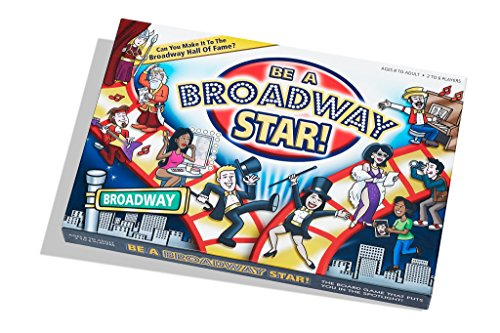 Gift ideas for a broadway/musical theatre lover include this fun board game!