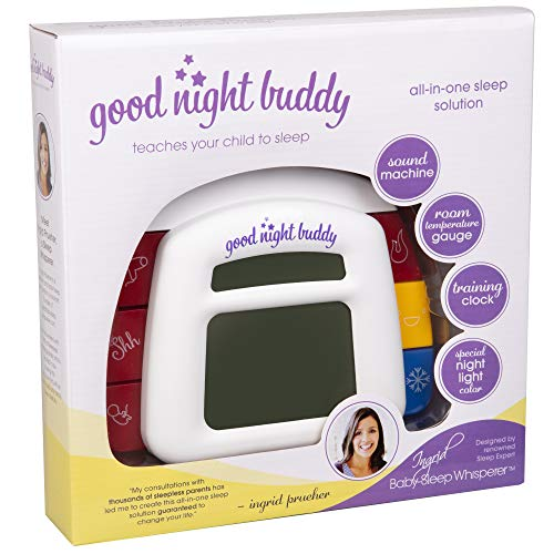 Product Image of the Good Night Buddy by Sleep Whisperer Ingrid Prueher - All-in-One Sleep Training...