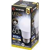 アイリスオーヤマ LED電球 口金直径26mm 広配光 60W形相当 昼光色 密閉器具対応 LDA7D-G-6T6