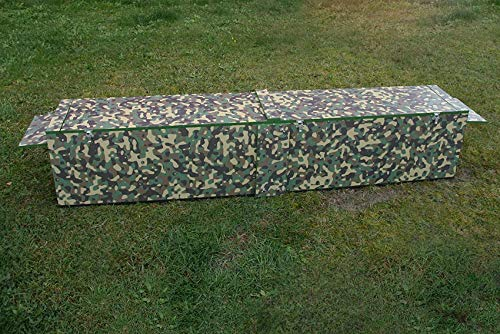 Jagdfallen Steingraf Qualitätsfallen Made in Germany 200cm Fuchsfalle Tierfalle Lebendfalle Deluxe Camouflage Zugauslösung#81#