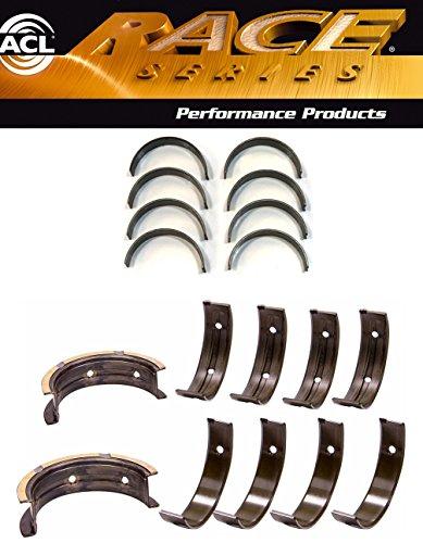ACL Race Rod+Main Bearings compatible with Subaru WRX STi EJ20 EJ25 w/52mm & thrust #3 position (STD SIZE) (2)