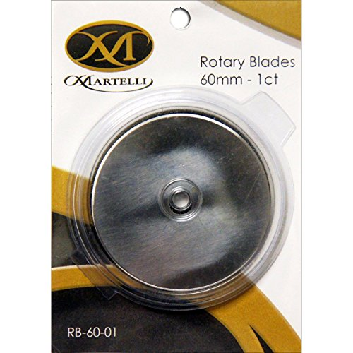 Martelli Replacement Blades for 60mm Rotary Cutters (10)