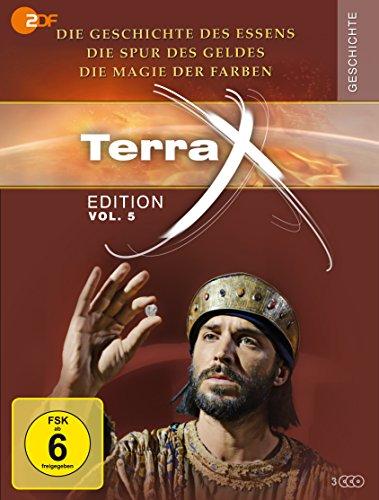 Terra X - Edition Vol. 5: Die Geschichte des Essens / Die Spur des Geldes / Die Magie der Farben (3 DVDs)