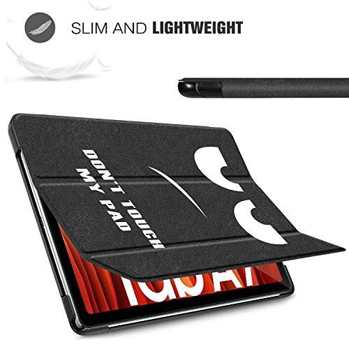 ELTD Hülle mit Displayfolie für Samsung Galaxy Tab A7, Flip PU Leder Schutzhülle mit Glas Displaysfolie für Samsung Galaxy Tab A7 2020 10.4 Zoll (CH-03)