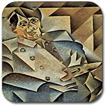 Portrait of Picasso By Juan Gris Coasters (Set of 4)
