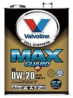 Valvoline エンジンオイル MAXGUARD SZ:Syntetic ZERO 0W20 SN 4L [HTRC3]