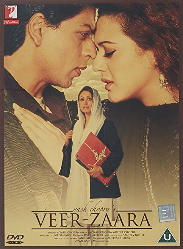 Veer-Zaara (2004) - Shah Rukh Khan - Preity Zinta - Rani Mukherjee - Bollywood - Indian Cinema - Hindi Film [UK Import]