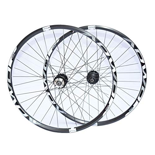Alloy Wheelset MTB BICICLE 26'27.5 Pulgada 29 ER, 32H Ruedas de Ciclismo Freno de Disco de Doble Pared 8/9/10 Velocidad (Size : 29 Inches)