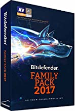 Bitdefender Family Pack 2017 Unlimited Devices 1 Year (9999-Users)