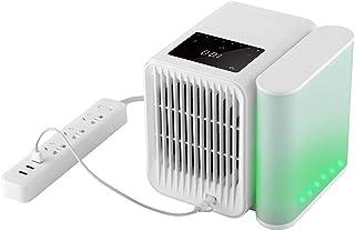 N/X Microhoo - Ventilador pequeño de aire acondicionado para el hogar, pequeño