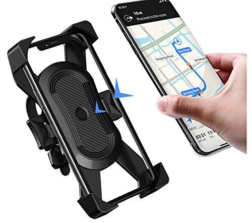 Soporte para teléfono de Bicicleta de actualización, Soporte para teléfono Inteligente de Bicicleta para Motocicleta, Soporte para teléfono Celular con Manillar, Soporte para