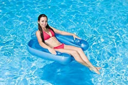 small Pool Master 85598 Paradise Chair Floating Pool, Blue