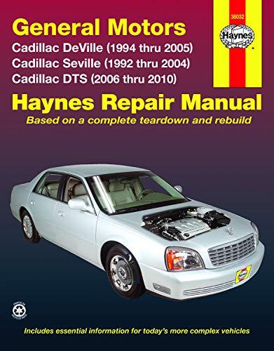 Cadillac DeVille (94-05), Seville (92-04), & DTS (06-10) Haynes Repair Manual