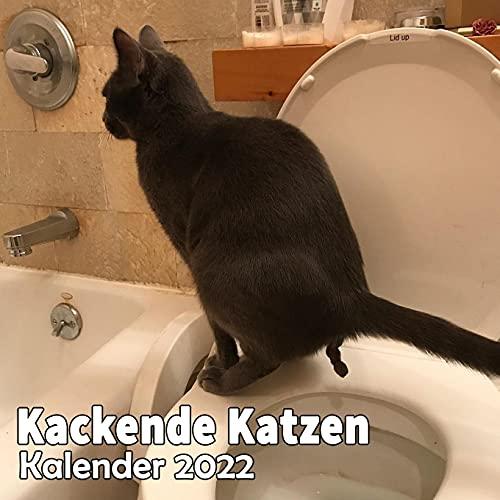 Kackende Katzen Kalender 2022: Lustige Katzen Kalender | Katzengeschenke für Männer Madchen Menschen Erwachsene Frauen Kinder Geburtstag Weihnachten