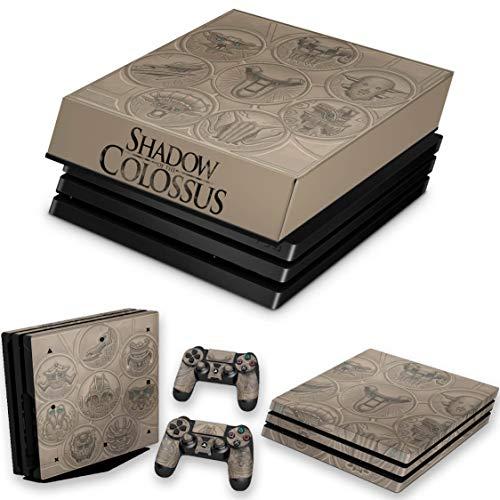 Capa Anti Poeira e Skin para PS4 Pro - Shadow Of The Colossus