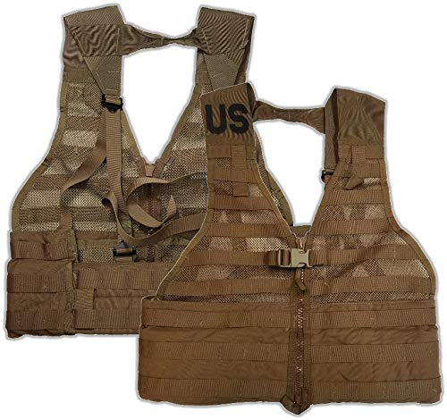 Specialty Defense Systems Official US Military Molle II Army FLC Fighting Tactical Assault Vest Carrier (Coyote Brown)