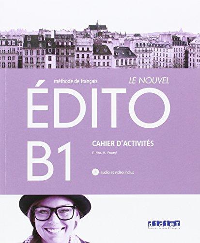 LE NOUVEL EDITO B1 EXERCICES - 9788490492079