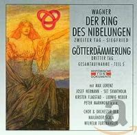 Der Ring Des Nibelungen (Zweiter Tag - Siegfried)/Goetterdaemmerung (Dritter Tag/gesamtaufnahme Teil 5)