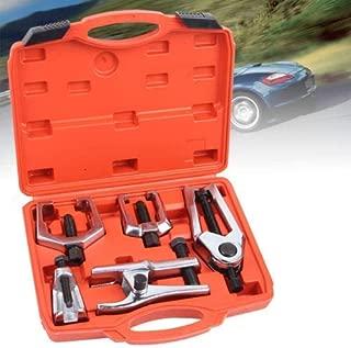 WYZXR Front End Service 5pcs Ball Joint Separator, Tie Rod Set Pitman Arm Tie Rod Puller Tool Kit
