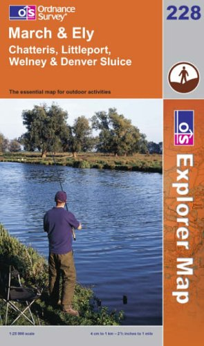 OS Explorer map 228 : March & Ely
