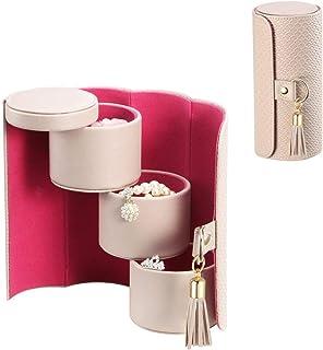 Vlando Viaggio Small Jewelry Case, Travel Accessory Storage Box (Renewed)