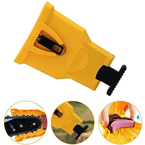 Chainsaw Teeth Sharpener, temperamatite portatile con lama per sega a catena