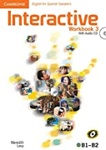 Interactive for Spanish Speakers  3 Workbook with Audio CDs (2) - 9788483238424