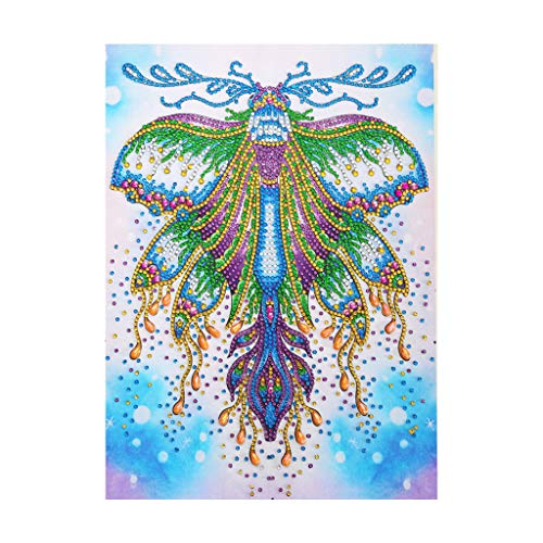 Fasclot Special Shaped Diamond Painting DIY 5D Partial Drill Cross Stitch Kits Crystal Home & Garden Diamond Painting