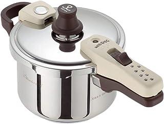 家で人気のあるワンダーシェフ圧力鍋3LIH対応超高圧140kPa ..ランキングは何ですか
