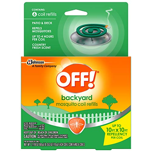 OFF! Mosquito Coil Refills, 6 CT (Pack - 2)