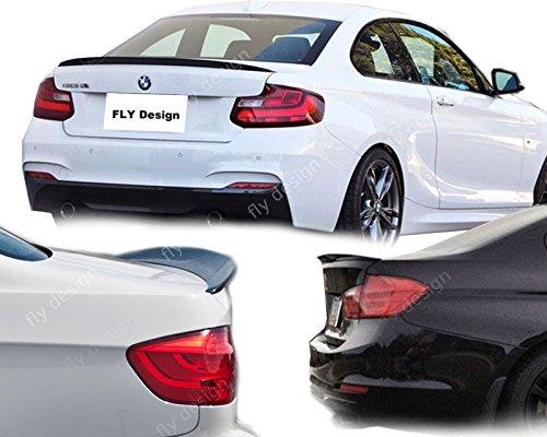 Car-Tuning24 53230997 Saphir Schwarz 475 LACKIERT Heckspoiler wie Performance und M3 2er Coupe F22 (2013-)