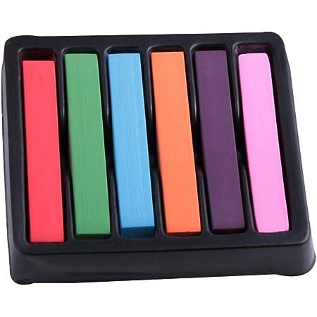 Mujer Girl 6 Lavable Color Temporal del Pelo DIY Tinte en ...