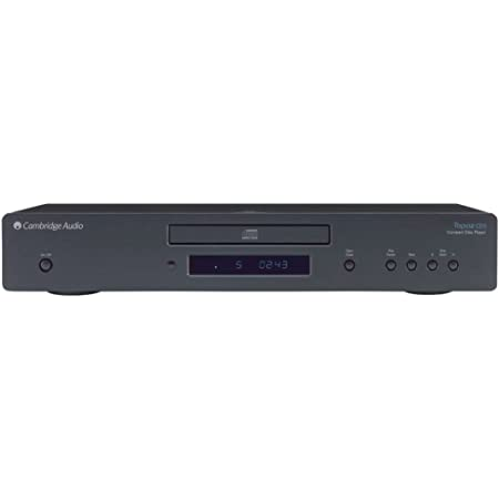 Cambridge Audio DAC CDプレーヤー TOPAZ CD5 D/Aコンバーター イギリス製 Wolfson 8725 搭載 エントリーモデル リモコン付属 TOPAZCD5BLK TOPAZCD5BLK
